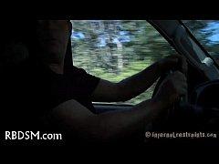 หนังโป๊ฝรั่งเด็ด บริการโคตรxxxของแทกซี่ขี่วนรอบเมืองสำหรับคนชอบความตื่นเต้นเย็ดกันในรถ