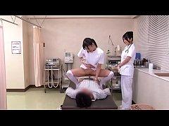 หนังโป๊ Japanese Porn คลินิกเถื่อน พยาบาลสุดหื่น เย็ดคนไข้ทุกคนที่มาใช้บริการ