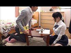ครูหนุ่มมาสอนนักเรียนถึงในบ้านจับนักเรียนสาวนมใหญ่จัดเลยจับเย็ดซะเลยเด็กคนนี้เย็ดมันจริงๆ