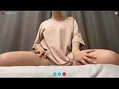 XXXX สาวสุดเอ็กซ์วีดีโอคอลโชว์หีหุ่นอย่างแซ่บนมใหญ่มากเขี่ยหีอย่างเสียวดิ้นบนเตียง HD4k